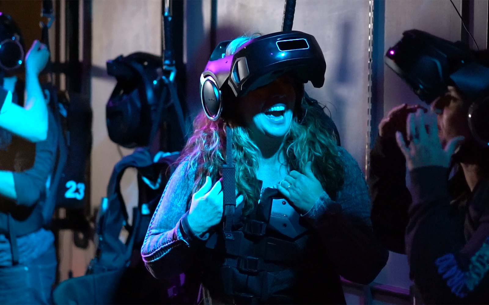 Star Wars Disney Experience VR Virtual Reality The Void