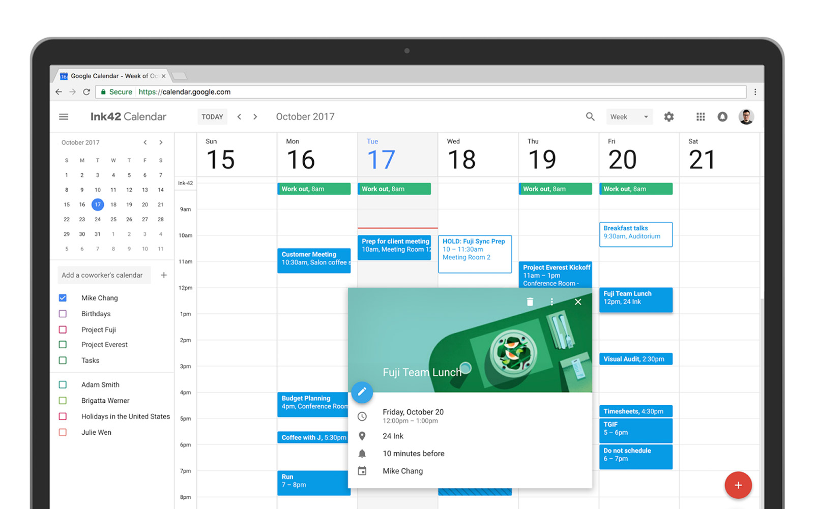 Google Calendar Has Been Completely Revamped for the Web (Video)
