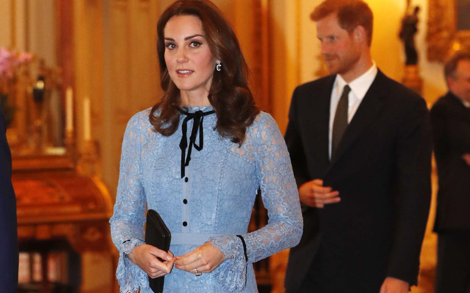 Kate Middleton Post Pregnancy Announcement Royal Baby Kensington Palace UK