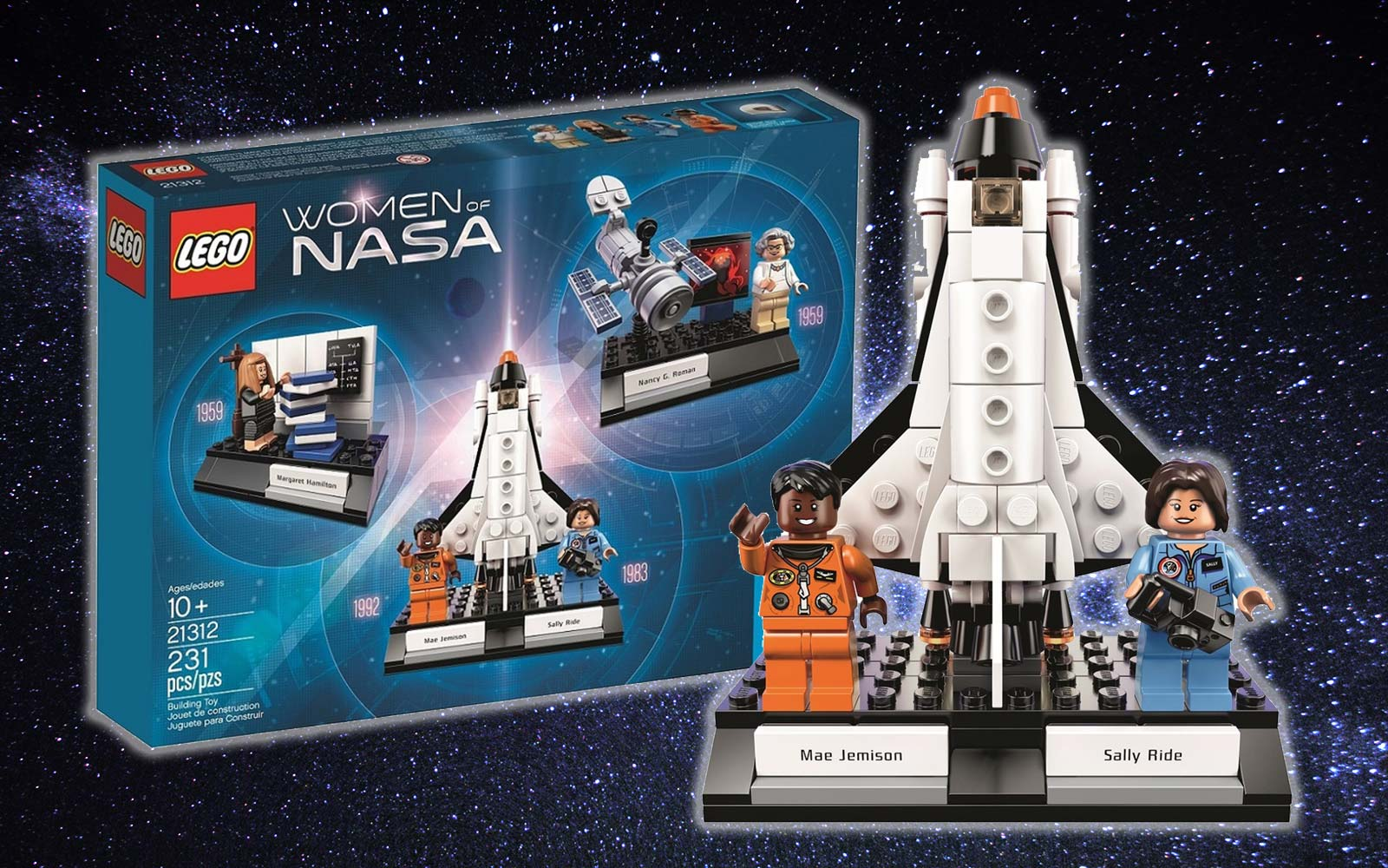 LEGO's New 'Women of NASA' Set Features Female Scientists, Engineers, and Astronauts