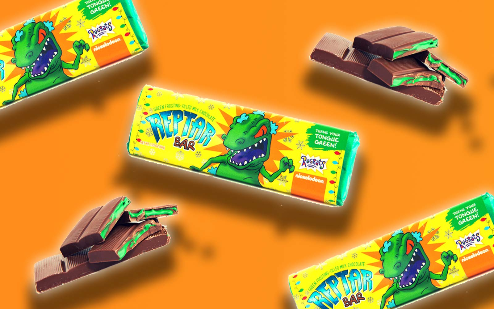 You Can Eat Reptar Bars and Cereal From 'Rugrats'