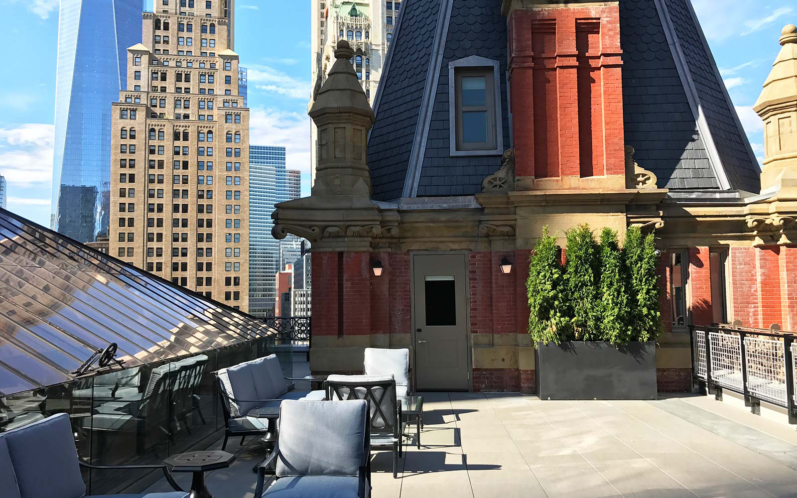 The Beekman Hotel New York City Turret Suite Private Terrace Views
