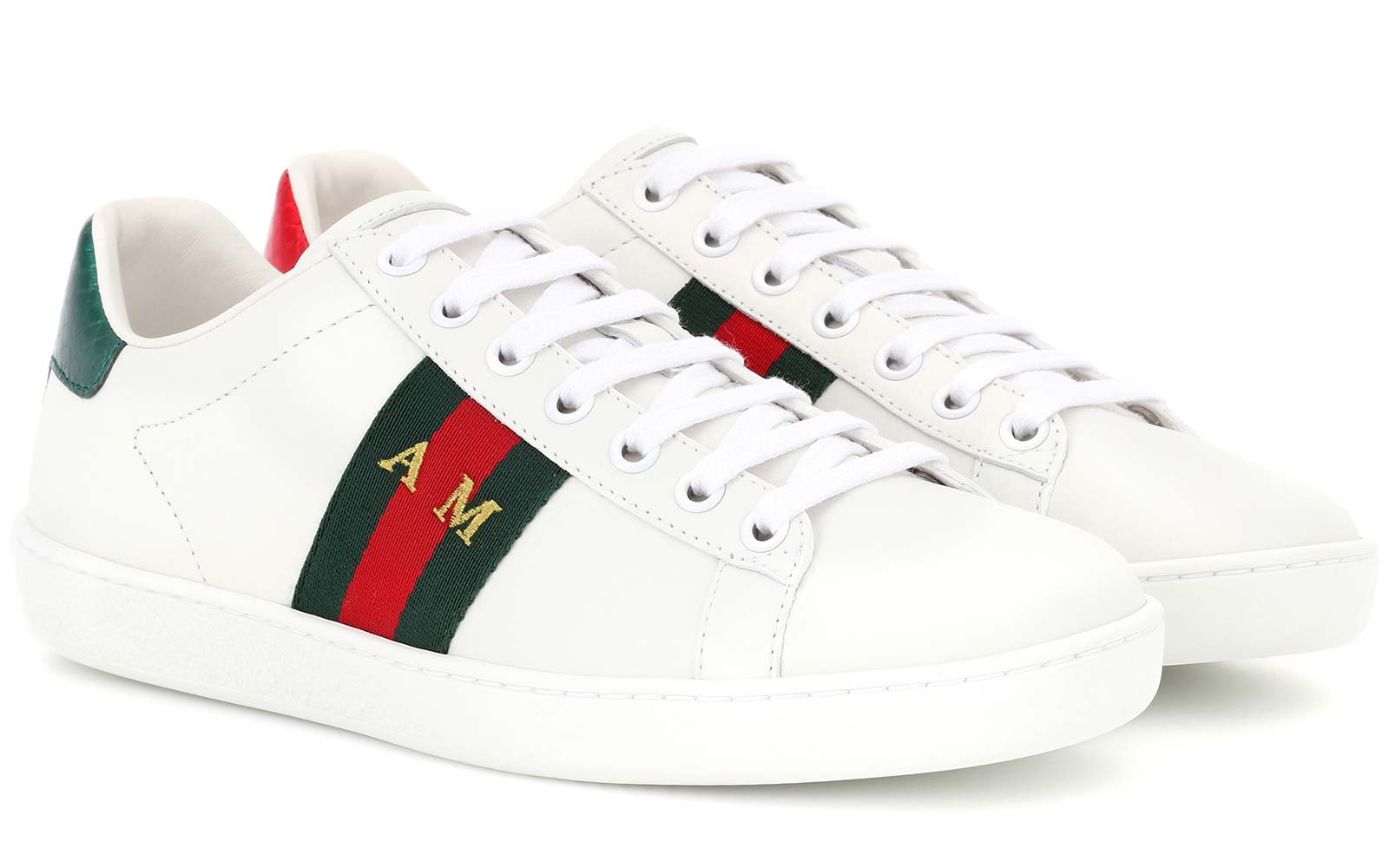 diy custom initial gucci sneaker shoes mytheresa.com