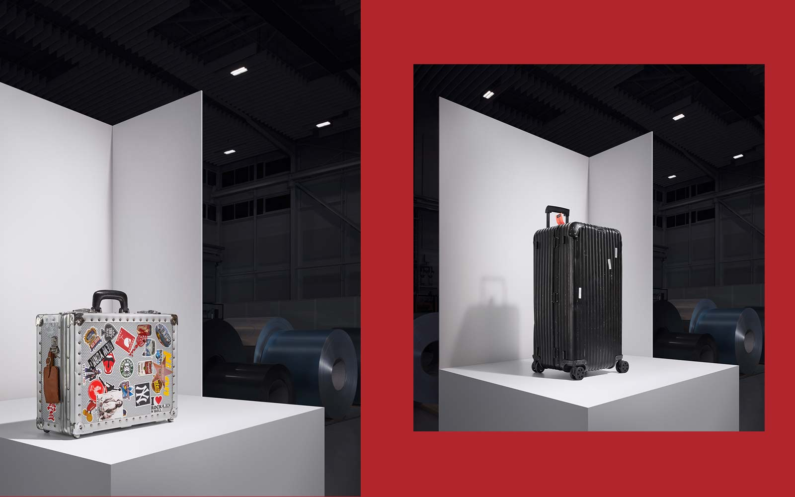 Rimowa Aluminum Luggage Set 80th Anniversary Collection
