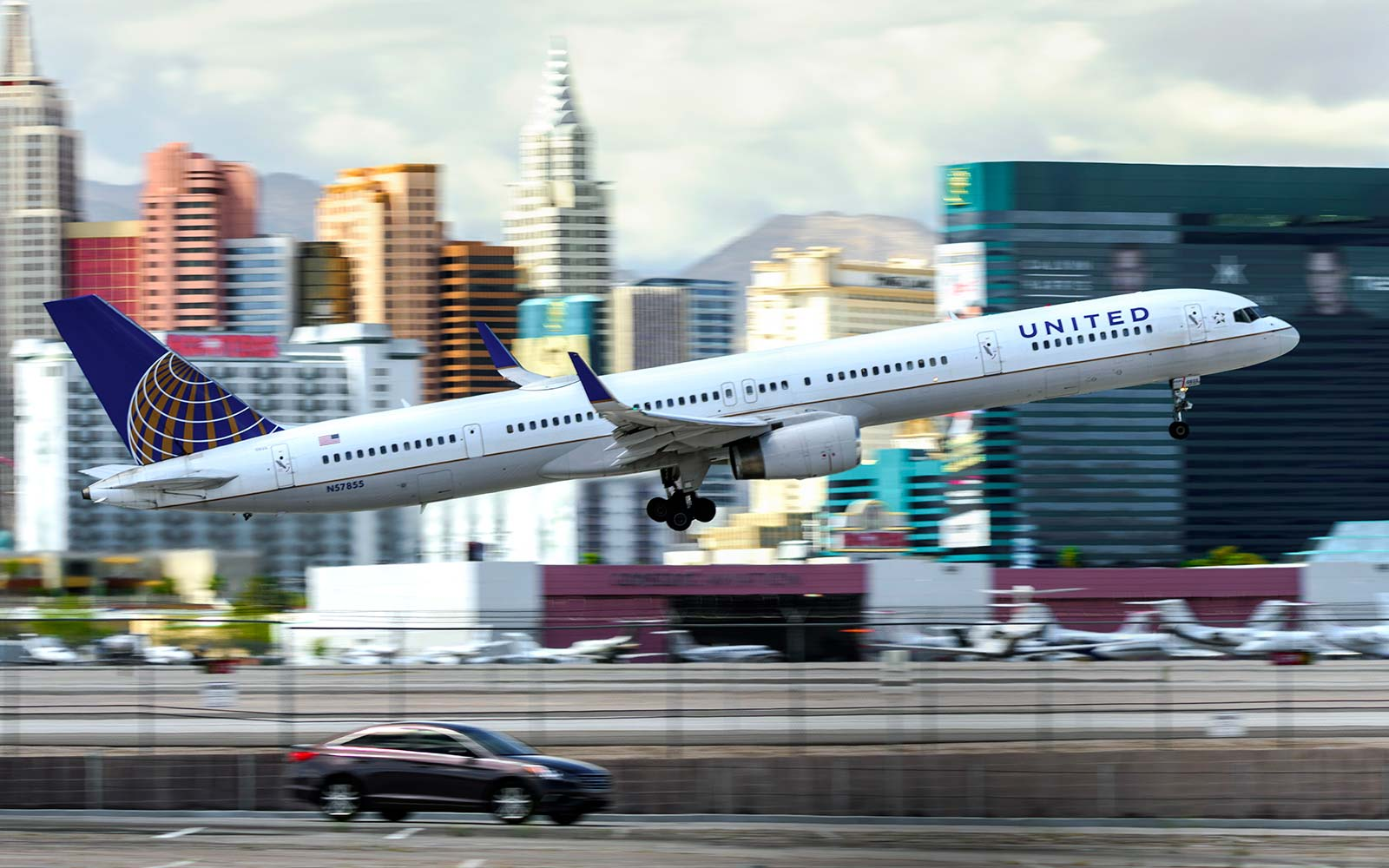 United Airlines Las Vegas McCarran Airport voucher