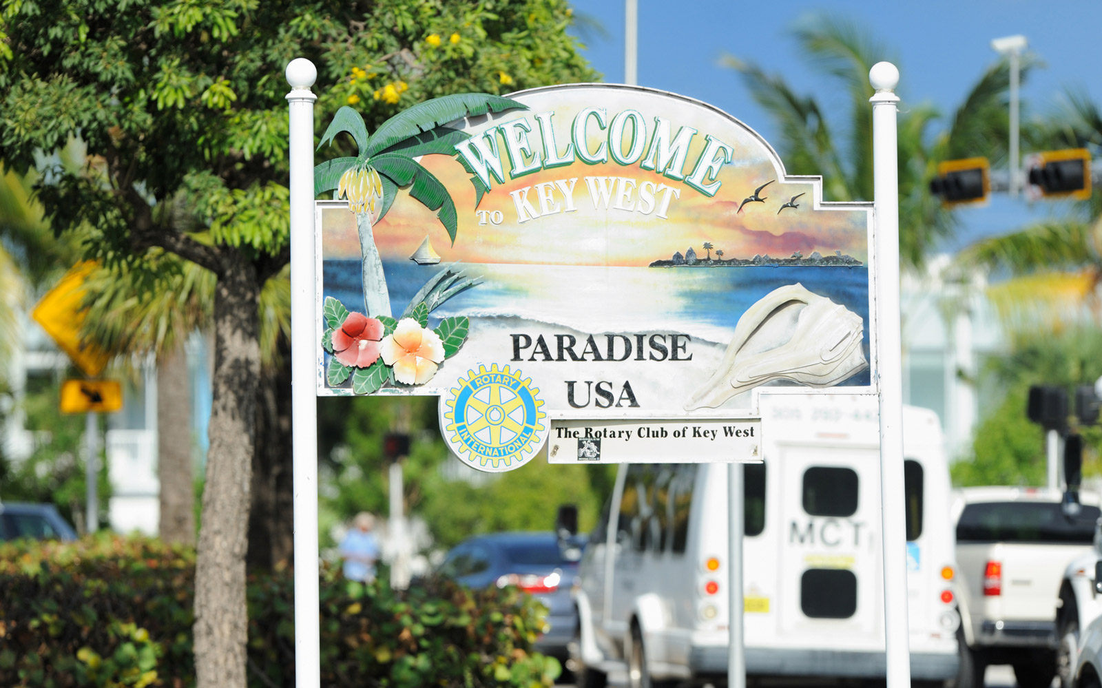 Famed 'Welcome to Key West' Sign Found 300 Miles Away From Its Original Home