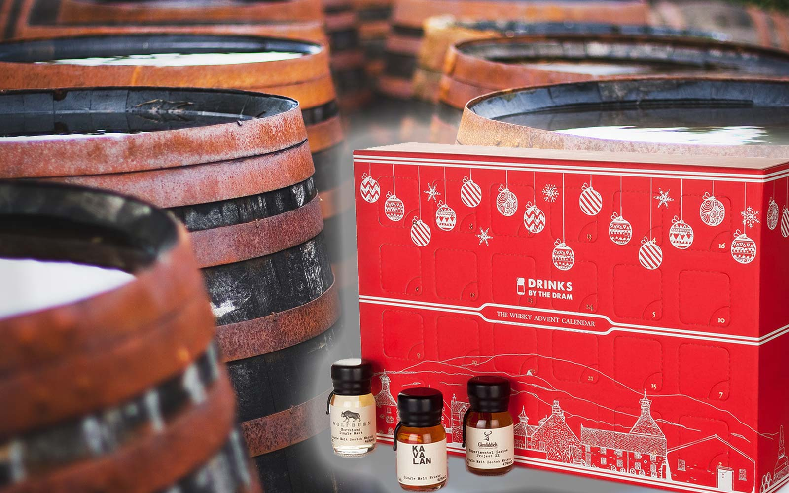 This Whisky Advent Calendar Includes 24 Whiskies From Around the World