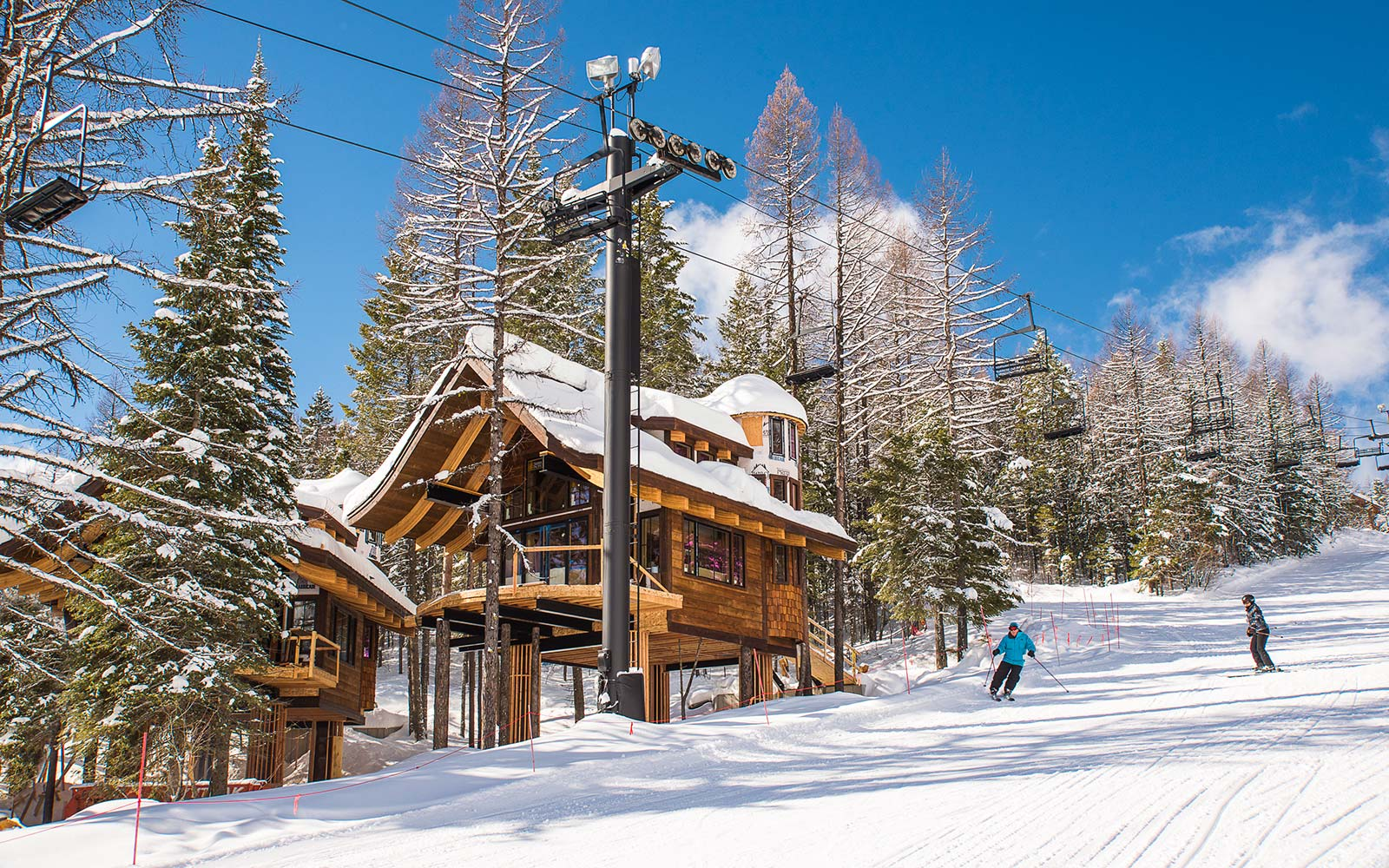 These Luxury 'Ski-in' Treehouses Will Help You Make the Most of This Ski Season