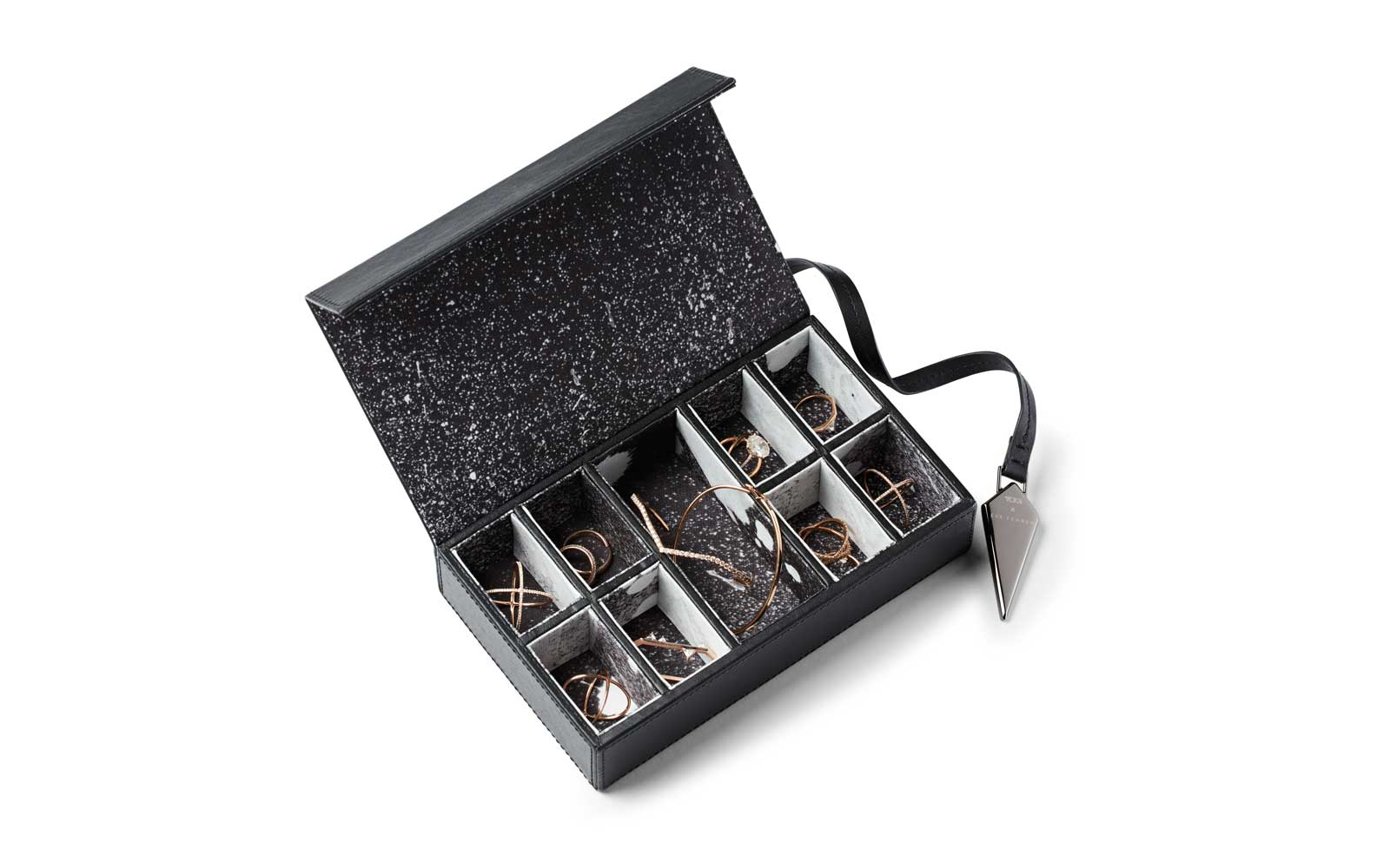 Black Jewlery Box from Eva Fehren and Tumi