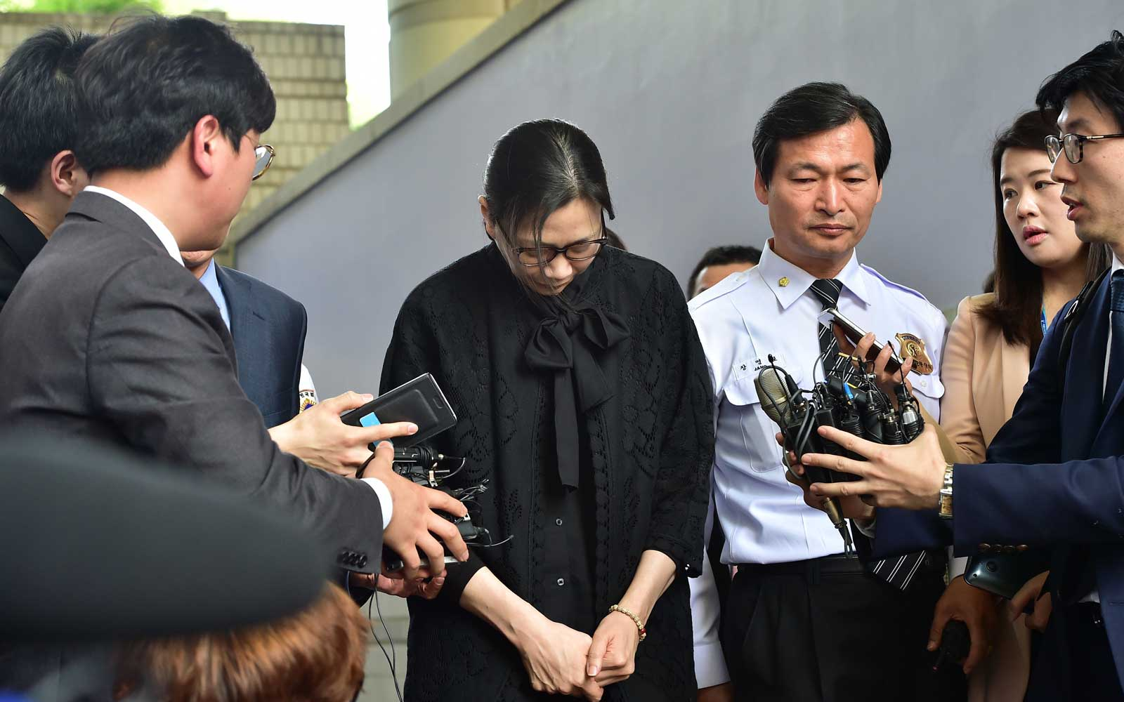 Former Korean Air executive Cho Hyun-ah nut rage trial
