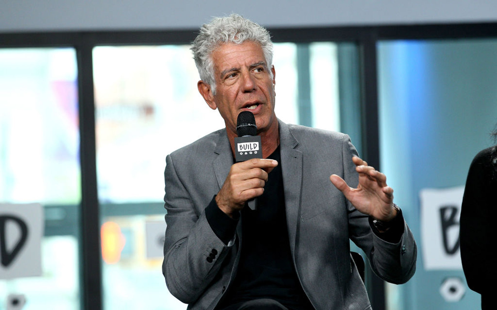Anthony Bourdain Says He's on Television for 'Selfish' Reasons
