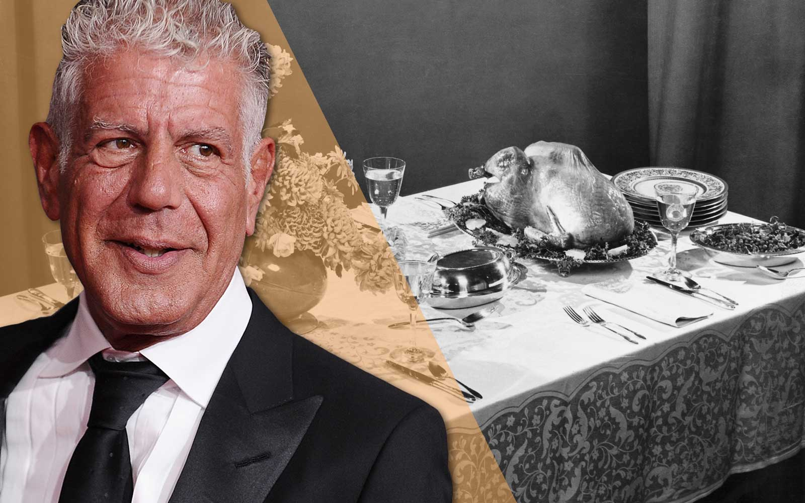 This Is Anthony Bourdain's Secret to a Successful Thanksgiving