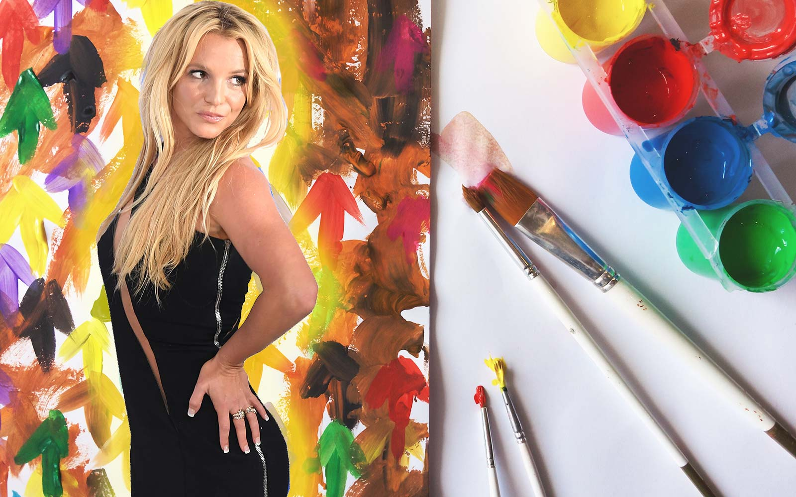 Britney Spears Just Sold One of Her Paintings for $10,000