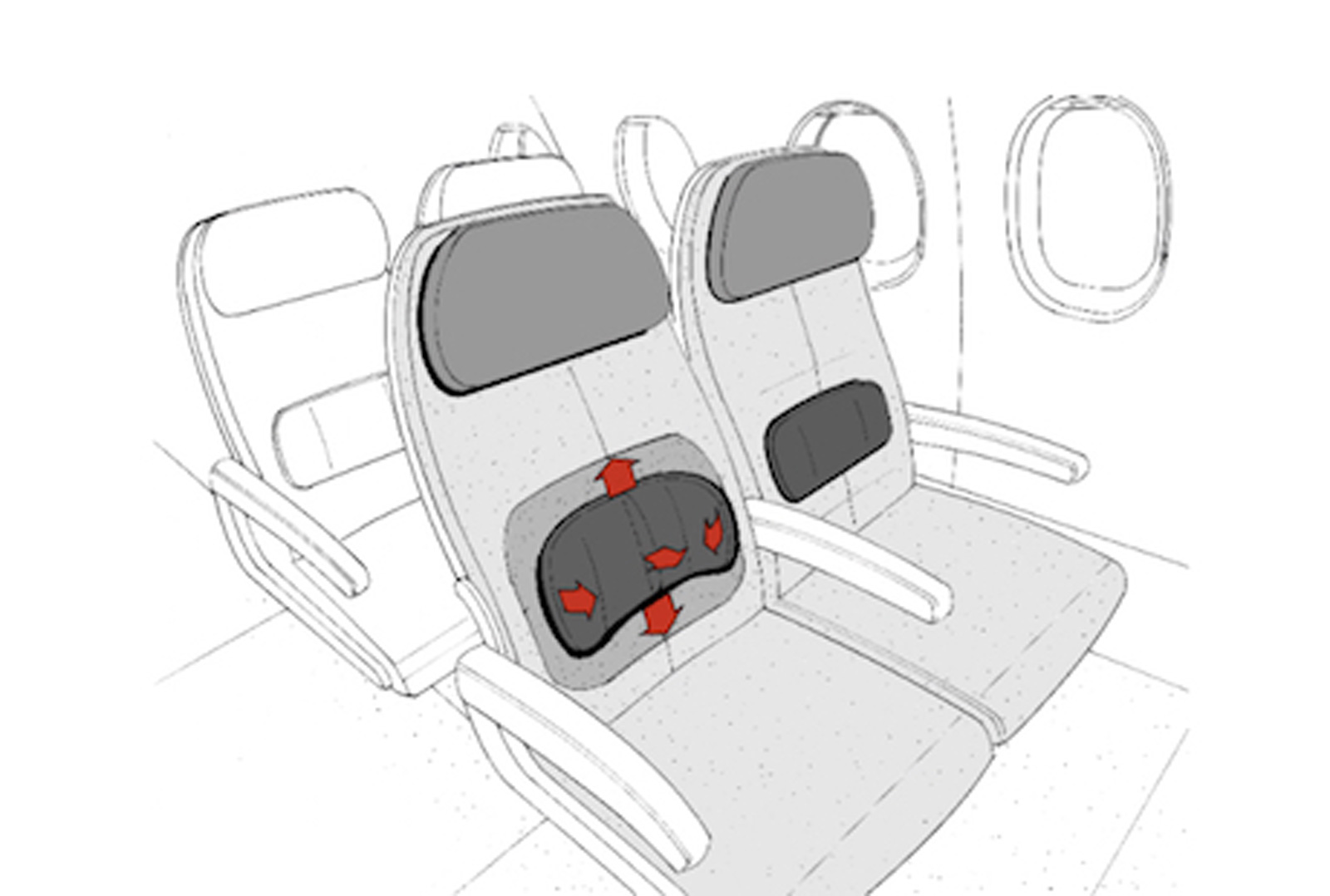 Comfortable economy seating