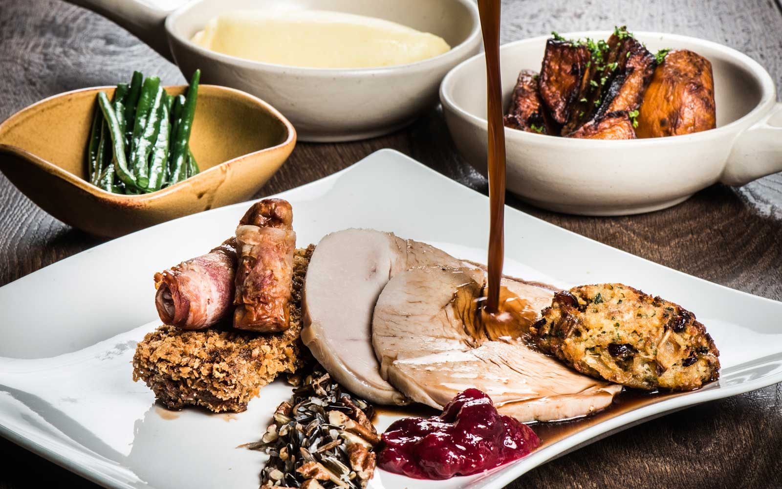 16 Hotels Where You Can Have a Thanksgiving Feast With None of the Hassle