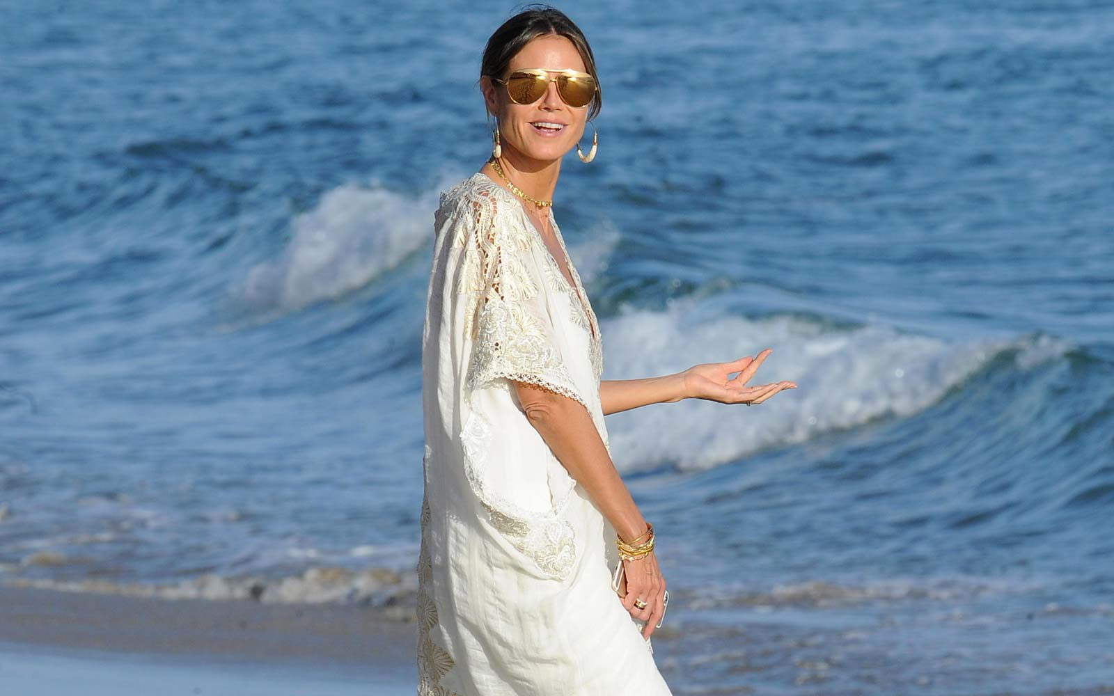 Heidi Klum's Gorgeous Caribbean Vacation Photos Will Convince You to Book a Trip