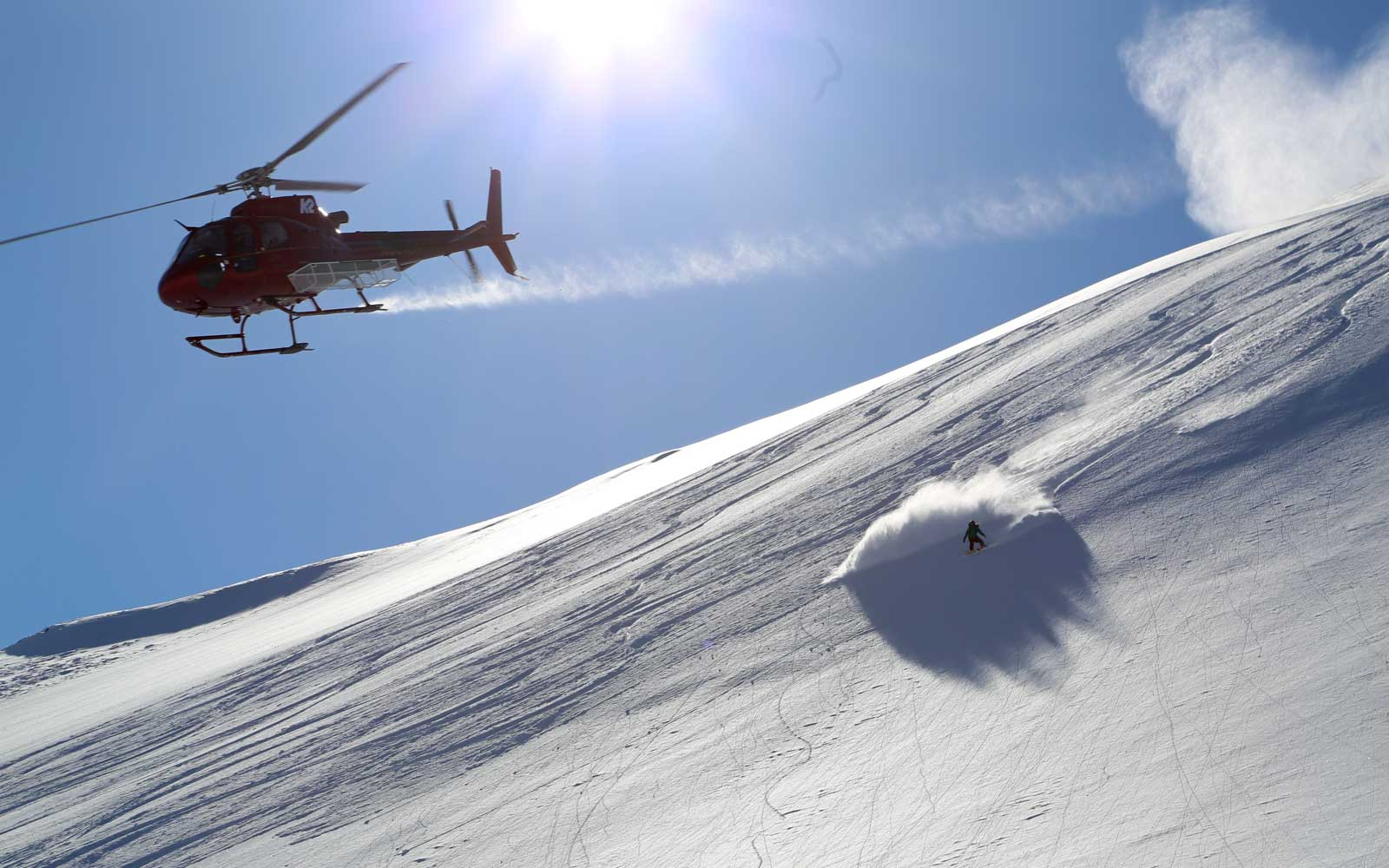 You Can Ski by Helicopter at This Alaskan Mountain Lodge