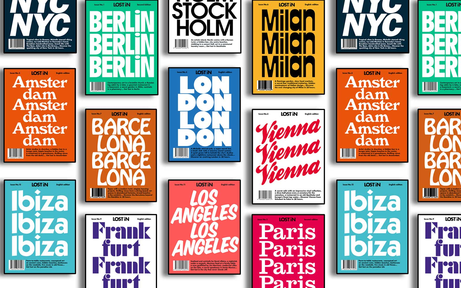 LOST iN City Guides Make it Easy to Travel Like a Local
