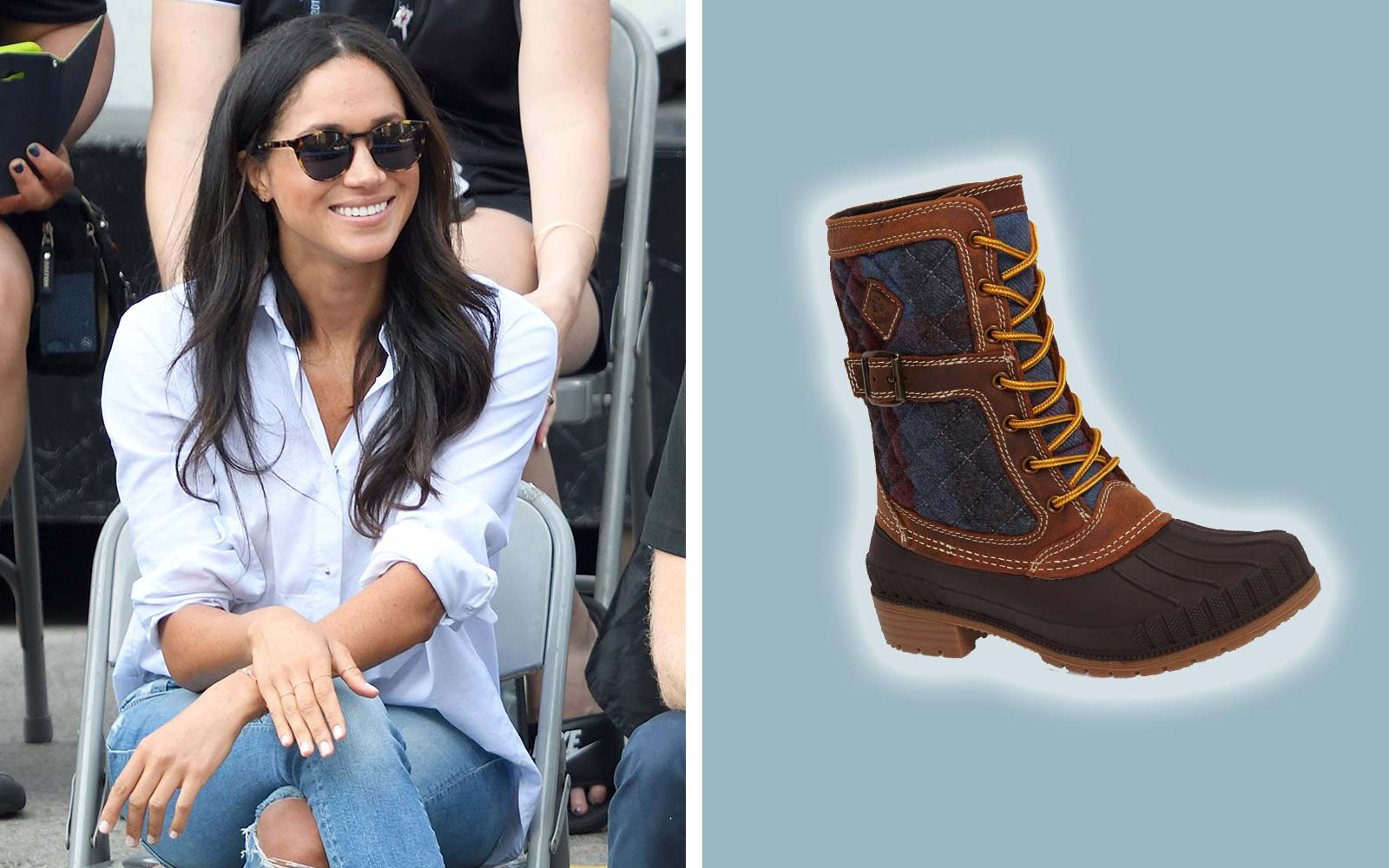 Meghan Markle Wears These $120 Boots Year After Year