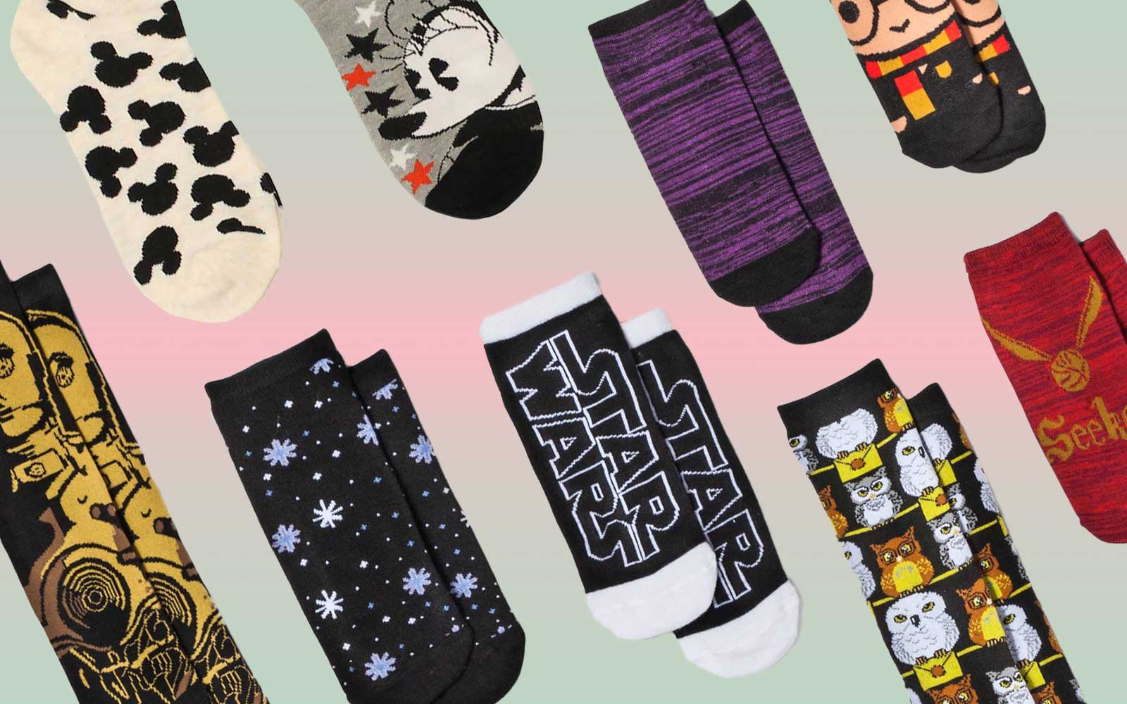 Harry Potter, Star Wars and Disney Sock Advent Calendars Are Now Available at Target