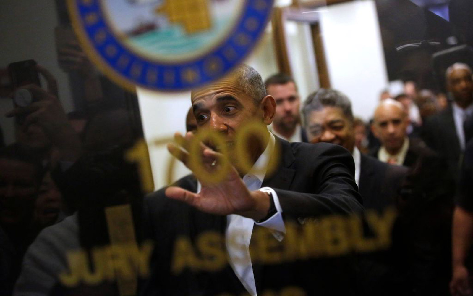 Barack Obama Just Reported for Jury Duty in Chicago