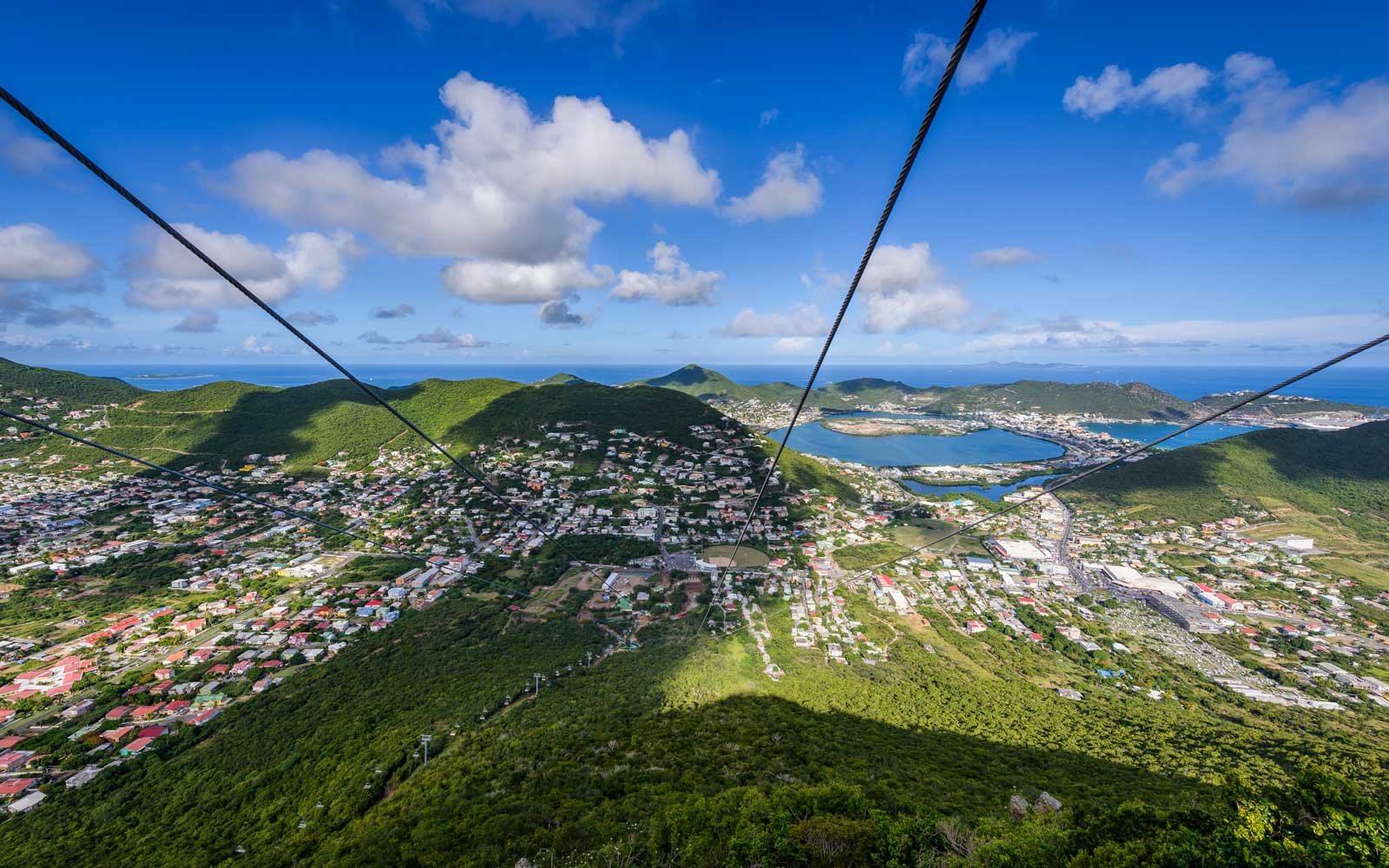 The World's Steepest Zip Line Is Coming to St. Martin