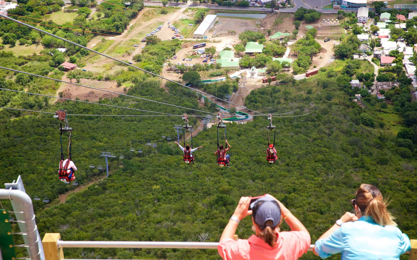 Oldest Zipline St Maarten