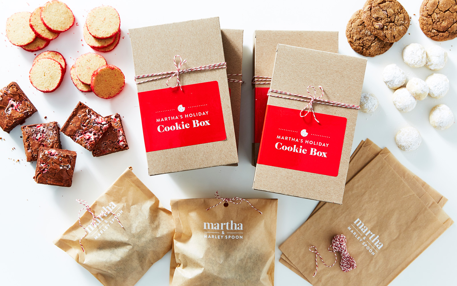 Martha and Marley Spoon has a holiday cookie kit.