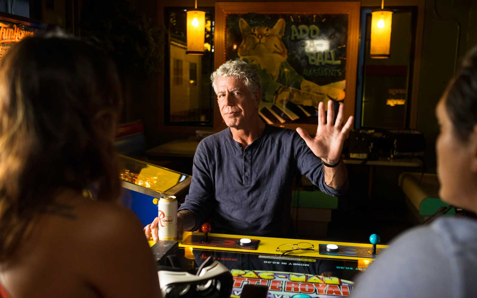 Anthony Bourdain in Seattle for Parts Unknown