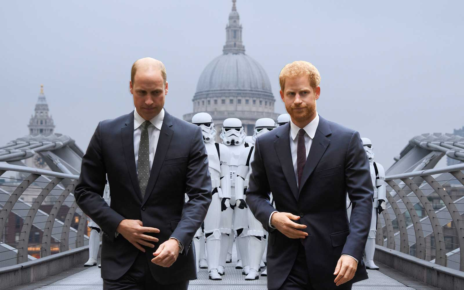 Prince William and Prince Harry Have a Cameo in 'Star Wars: The Last Jedi'