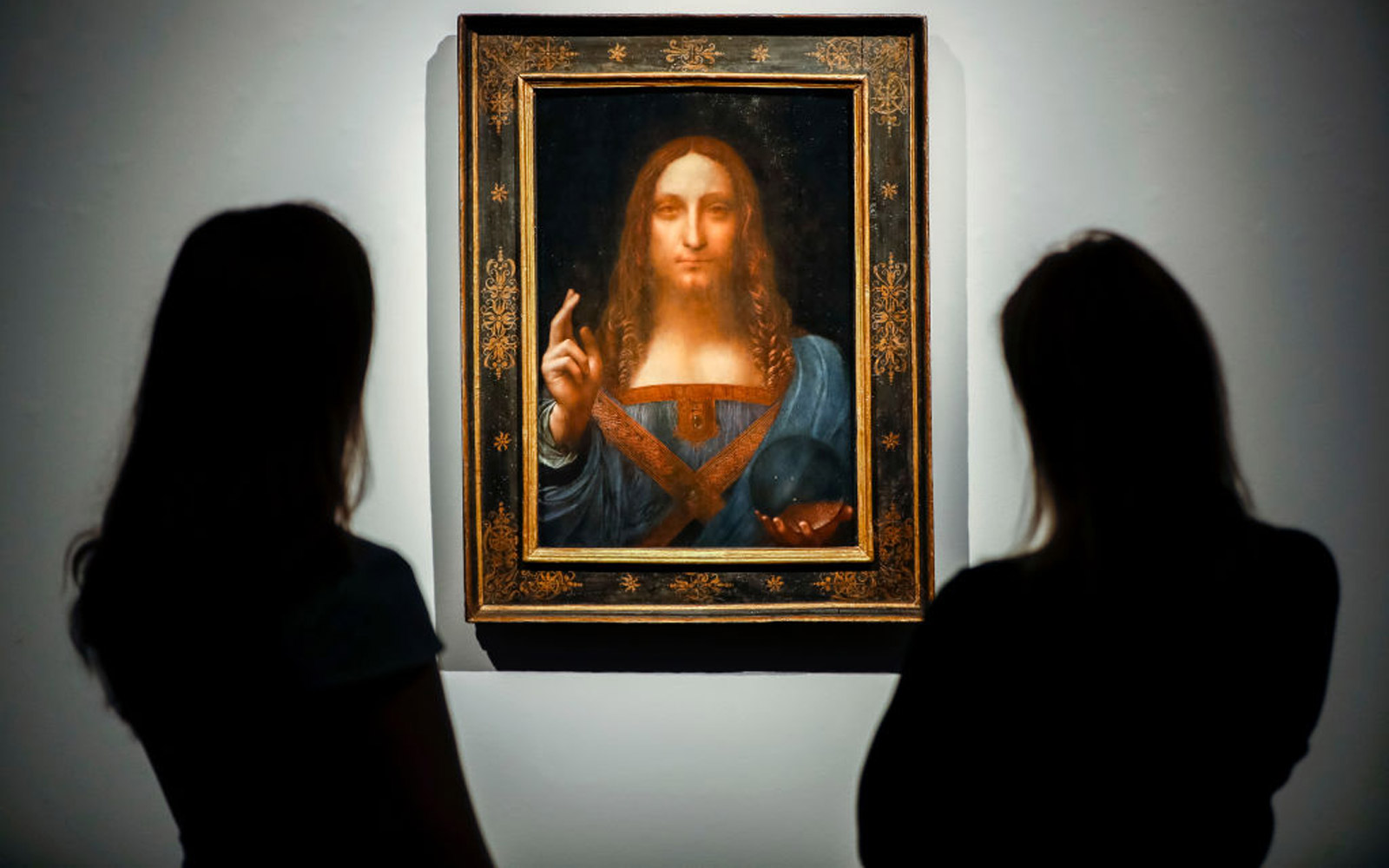 A 'Lost' Leonardo Da Vinci Painting Just Sold for  $450 Million