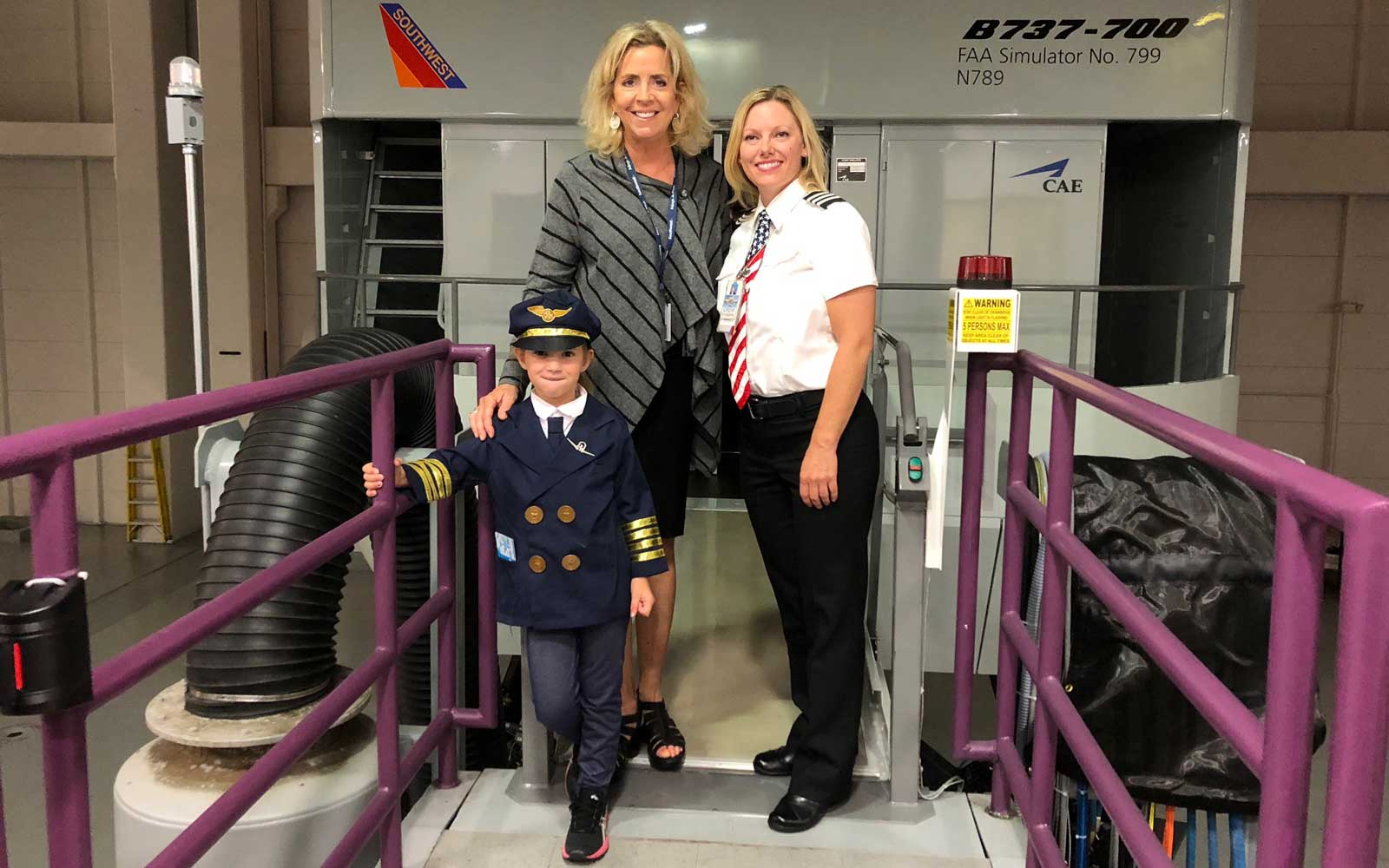 This 6-year-old Girl Wants to Become a Pilot for Southwest Airlines