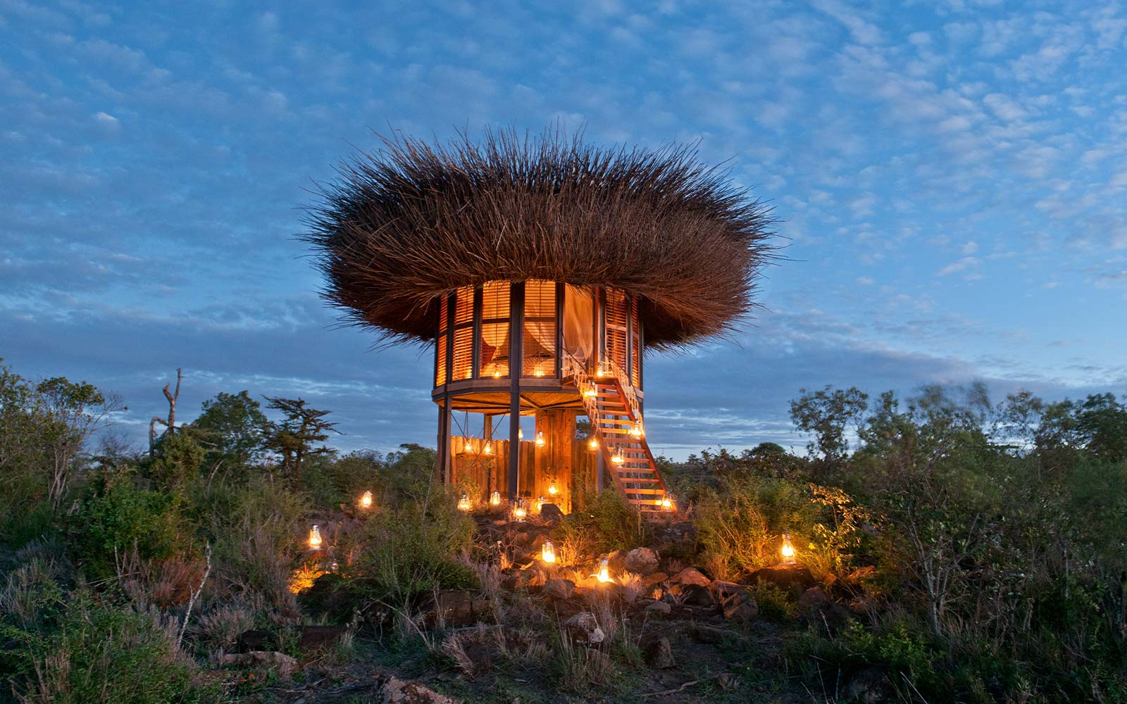 Spend Your African Safari at This Luxury Bird House