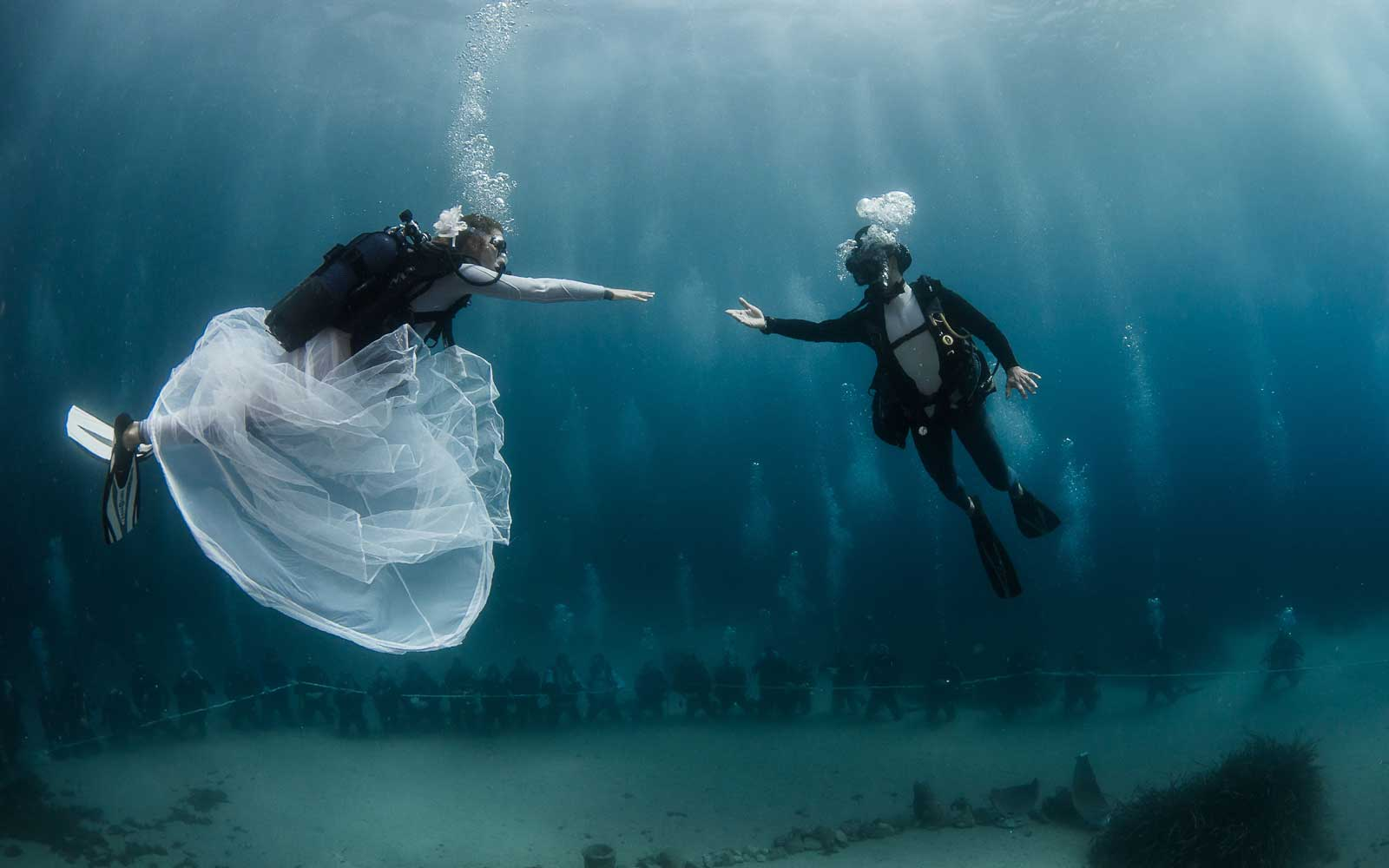 You Could Have an Underwater Wedding in Monte-Carlo