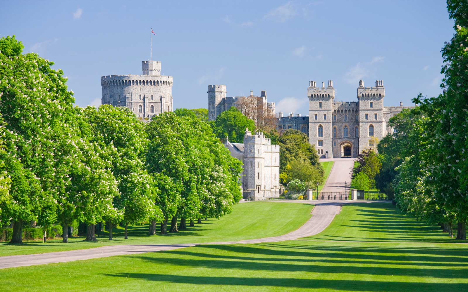 Windsor Castle in Berkshire, England