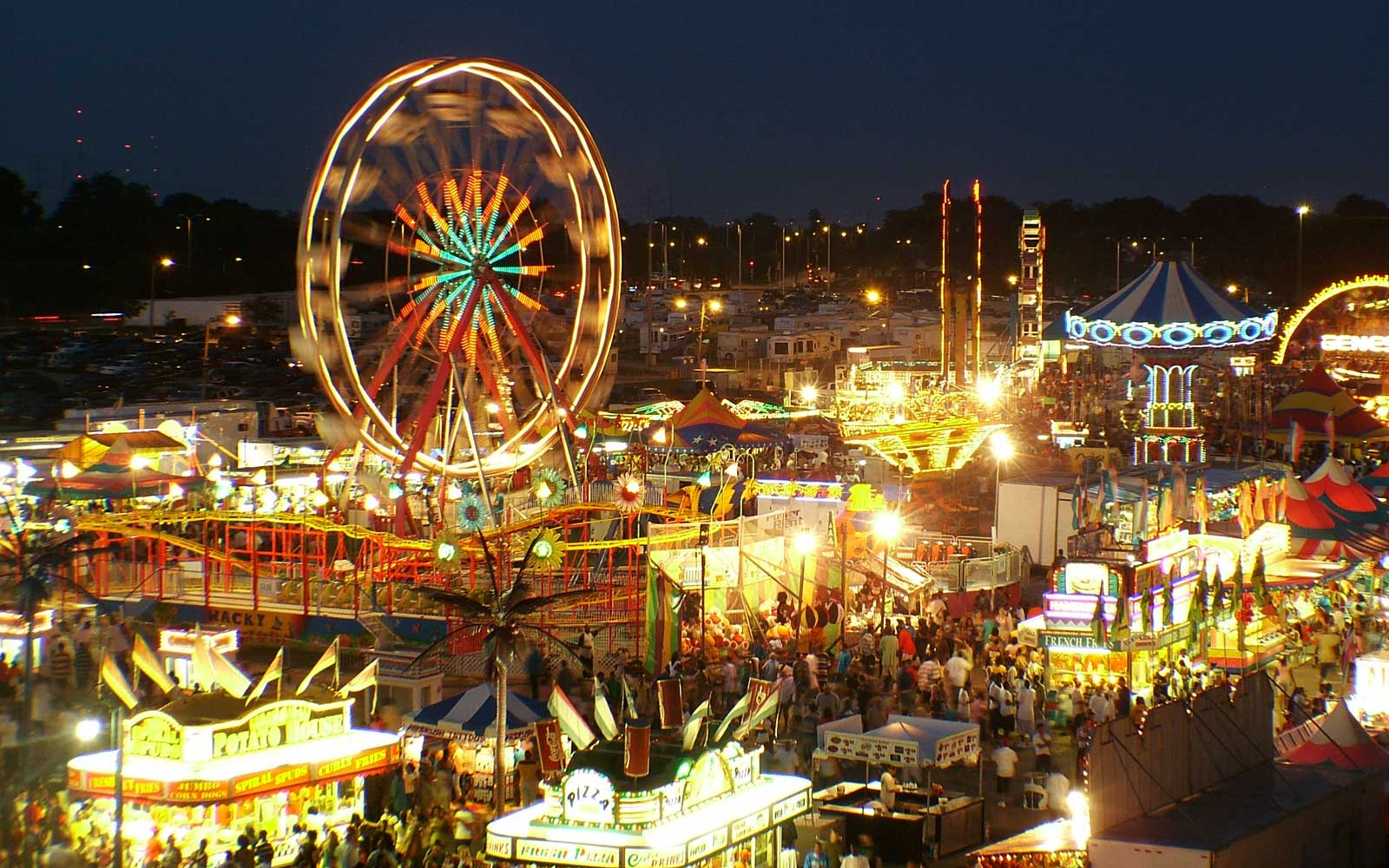 State Fair grounds in Wisconsin