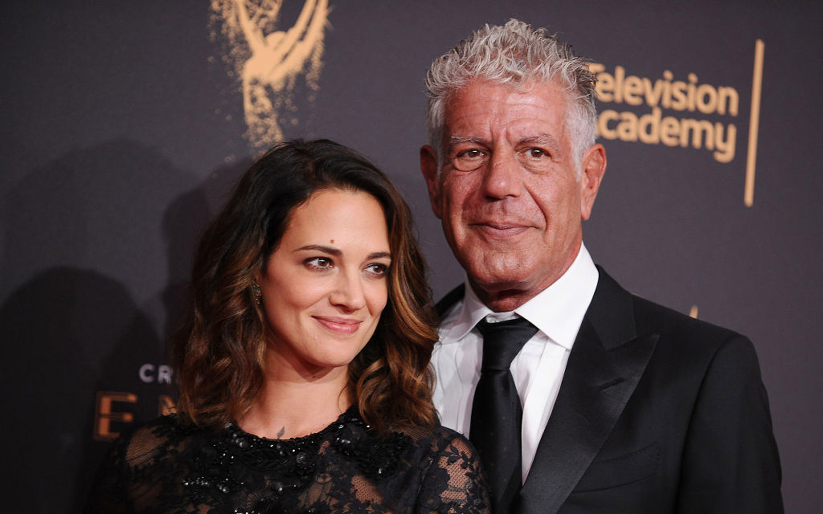 Anthony Bourdain Posts Thoughtful Selfie With Girlfriend Asia Argento