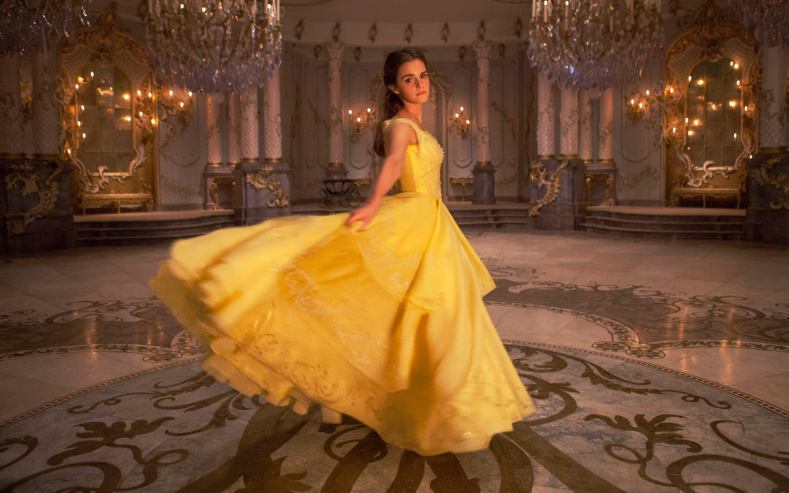 Beauty and the Beast Emma Watson Disney film