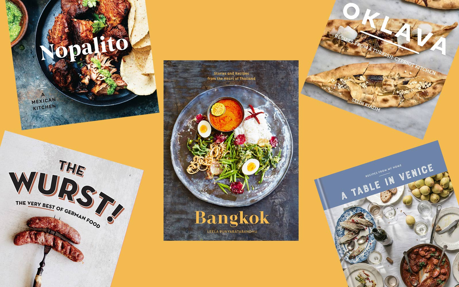 37 New International Cookbooks for the Traveling Home Cook