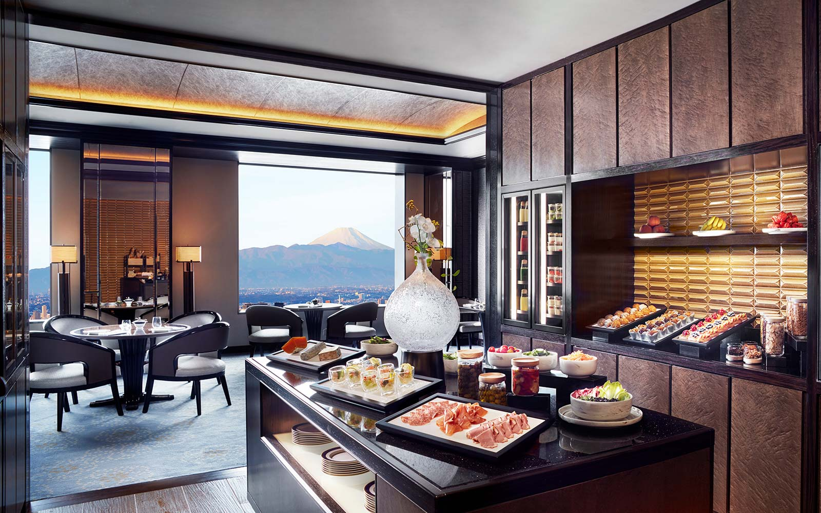 The Ritz Carlton Tokyo Japan Club Lounge Breakfast Buffet Dining