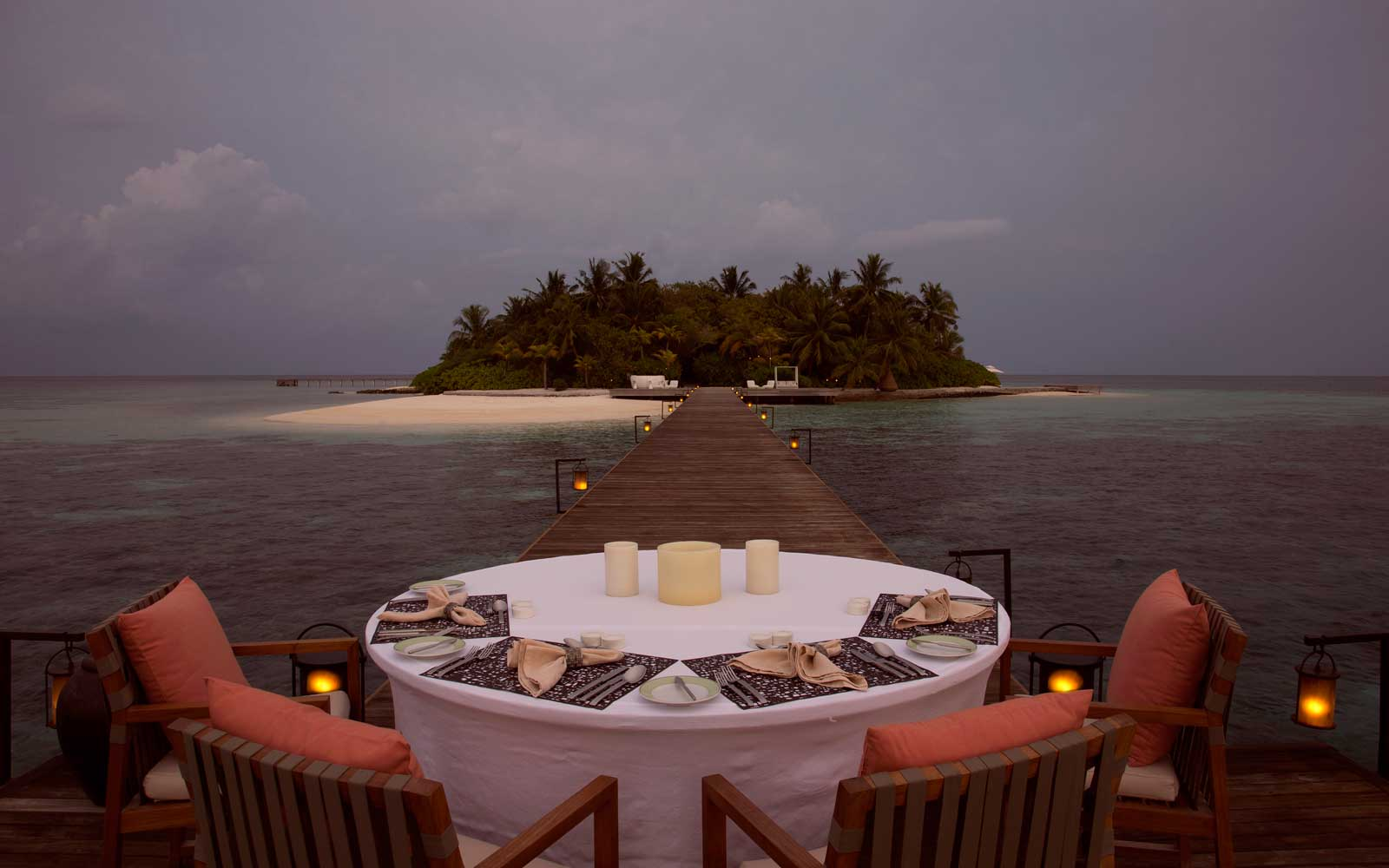 Coco Prive Lush Private Island in Maldives