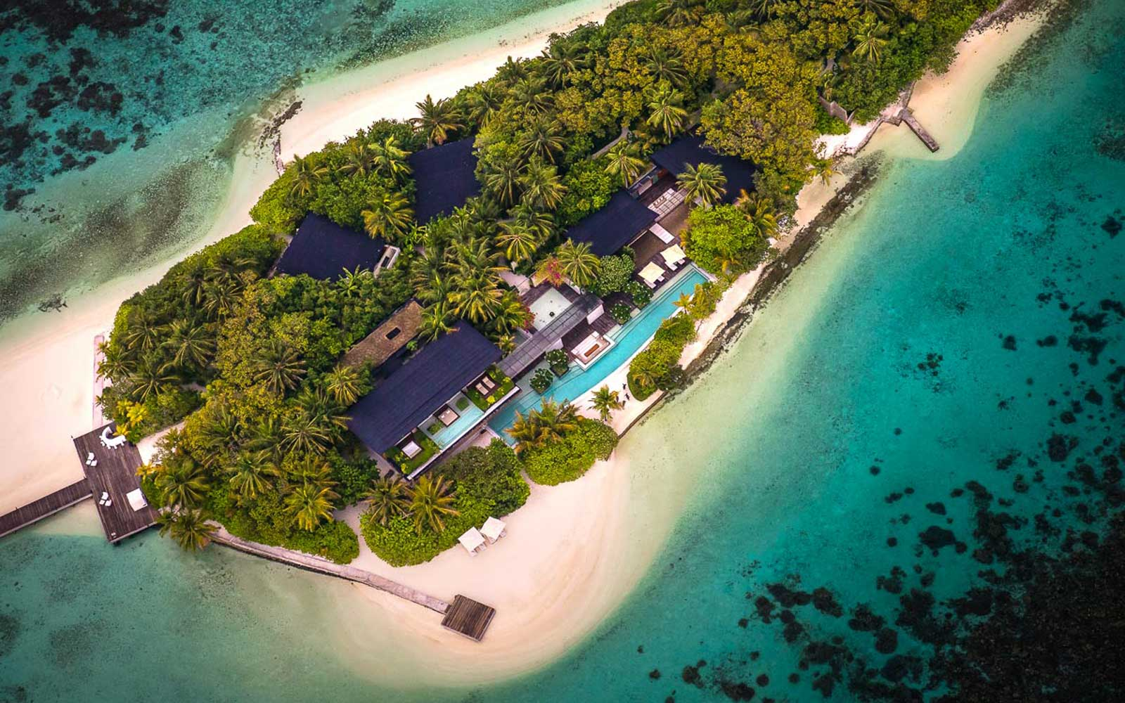 Here's What $45,000 per Night Will Get You on This Private Maldivian Island