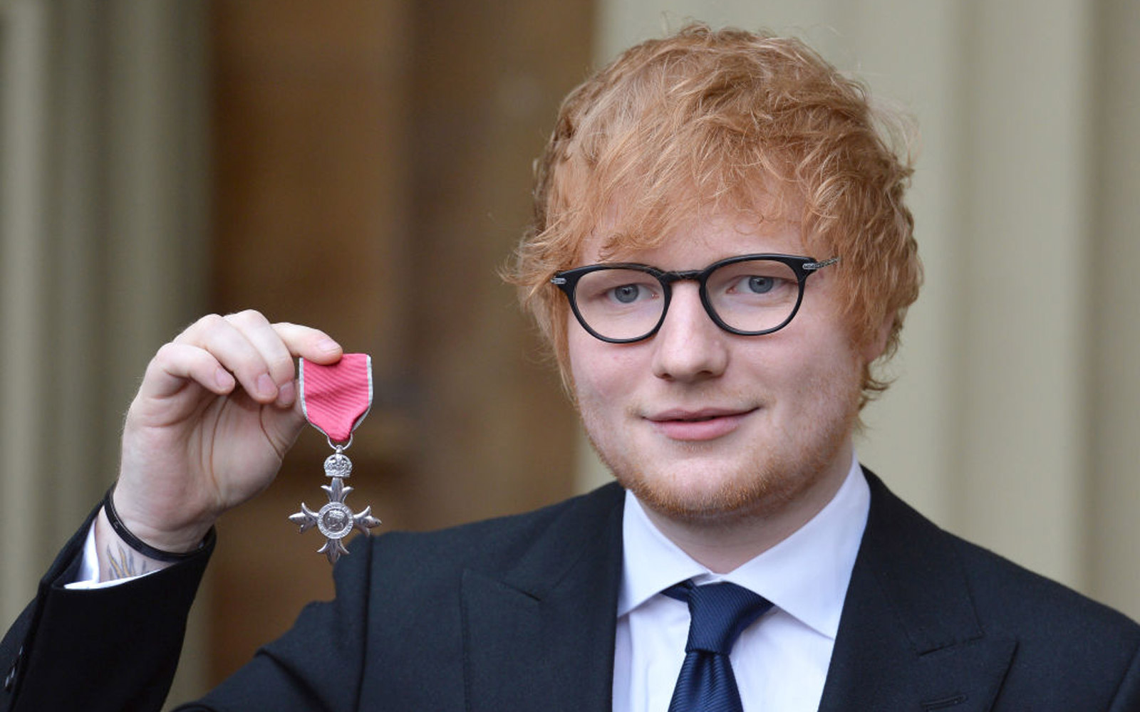 Prince Charles Bestows Ed Sheeran With Major Honor at Buckingham Palace (Video)