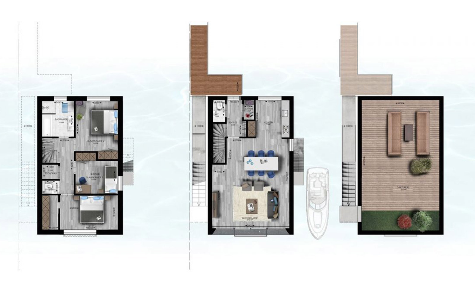Waterstudio: Floating Villa Blueprint