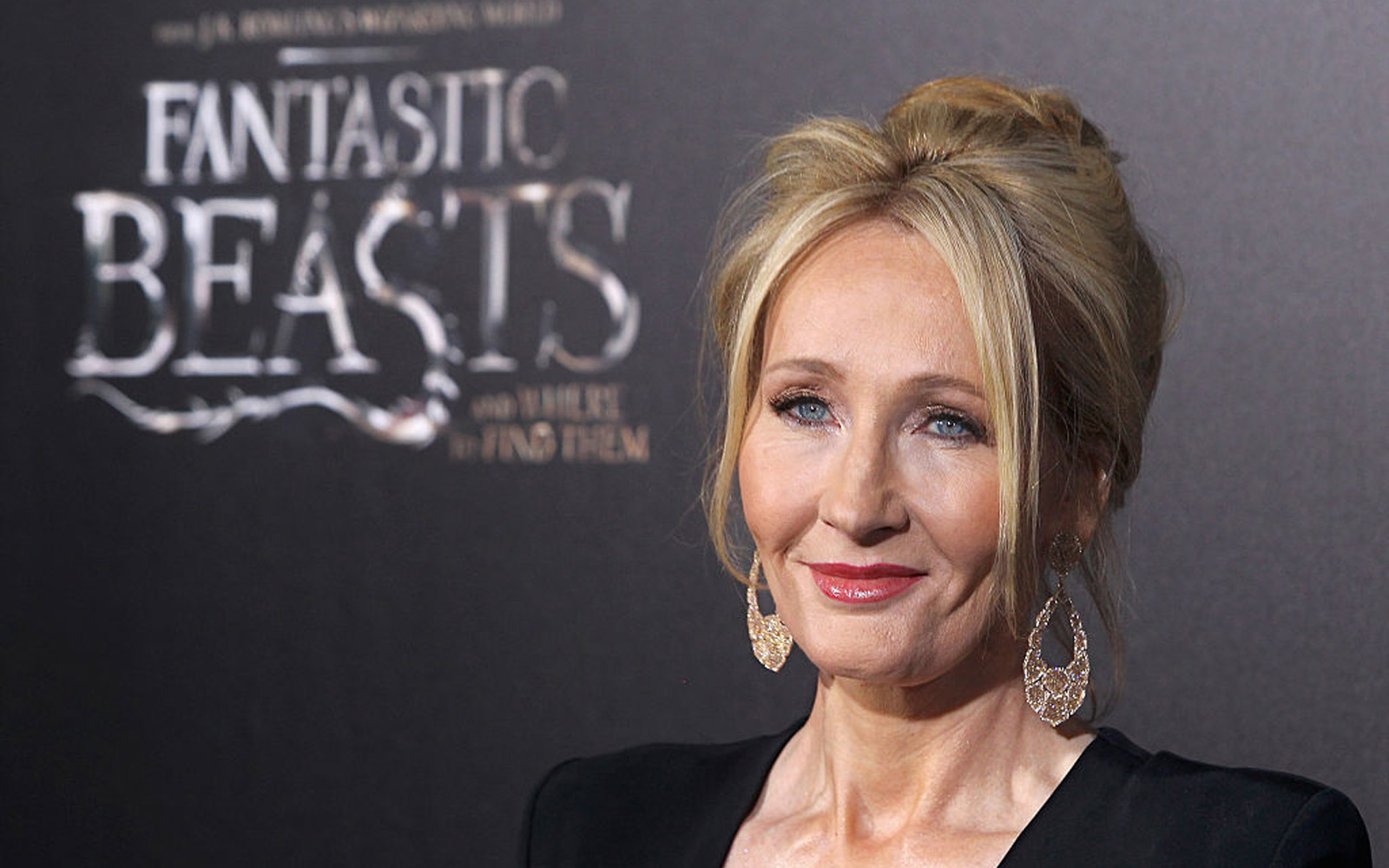 "NEW YORK, NY - NOVEMBER 10:  Novelist J. K. Rowling attends the ""Fantastic Beasts And Where To Find Them"" world premiere at Alice Tully Hall, Lincoln Center on November 10, 2016 in New York City."