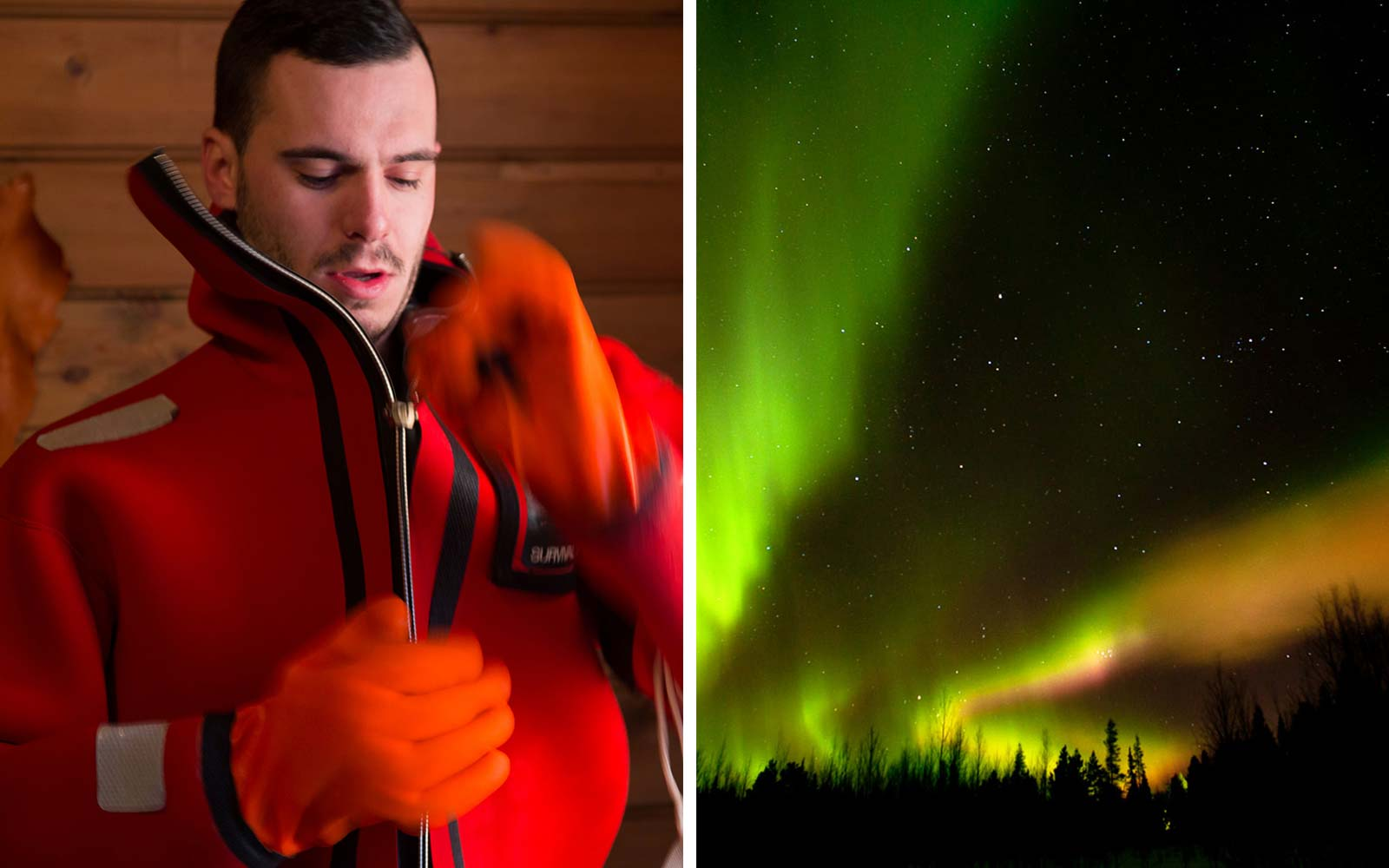 Off The Map Travel Aurora Floating Northern Lights Experience Finland