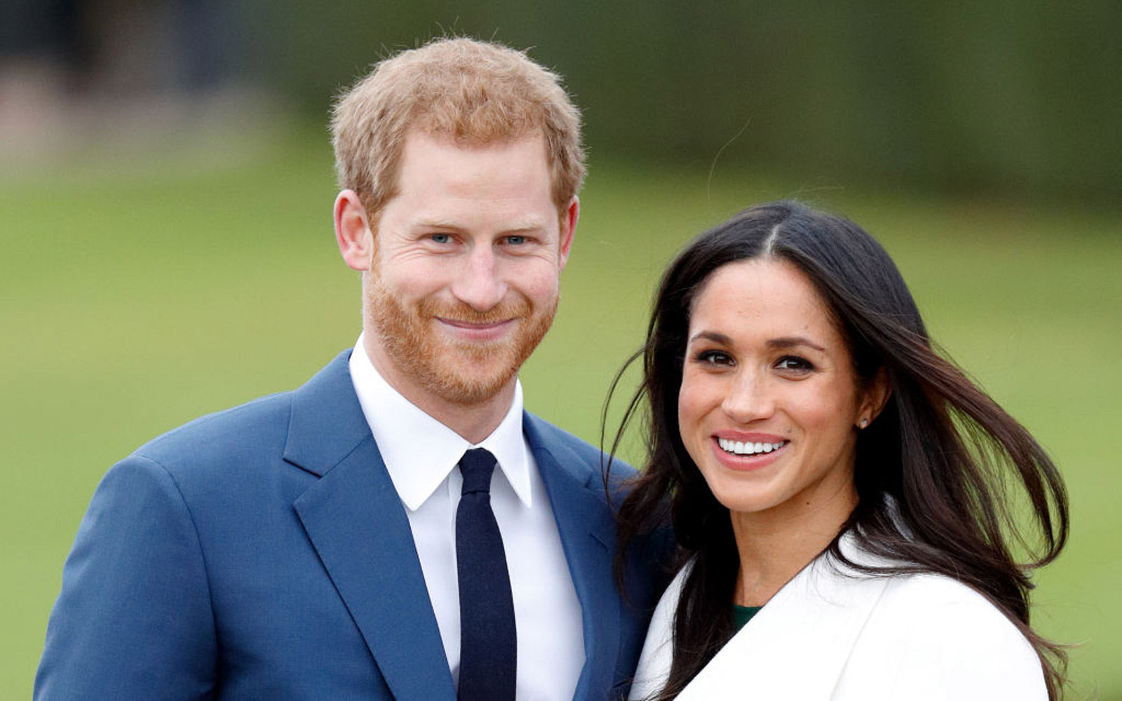 Prince Harry and Meghan Markle Look a Lot Like the Kids in 'Love, Actually'