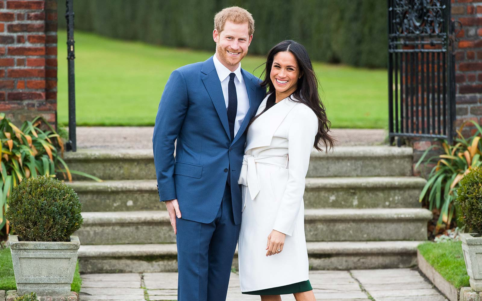 Prince Harry Meghan Markle Royal Engagement Wedding Kensington Palace UK