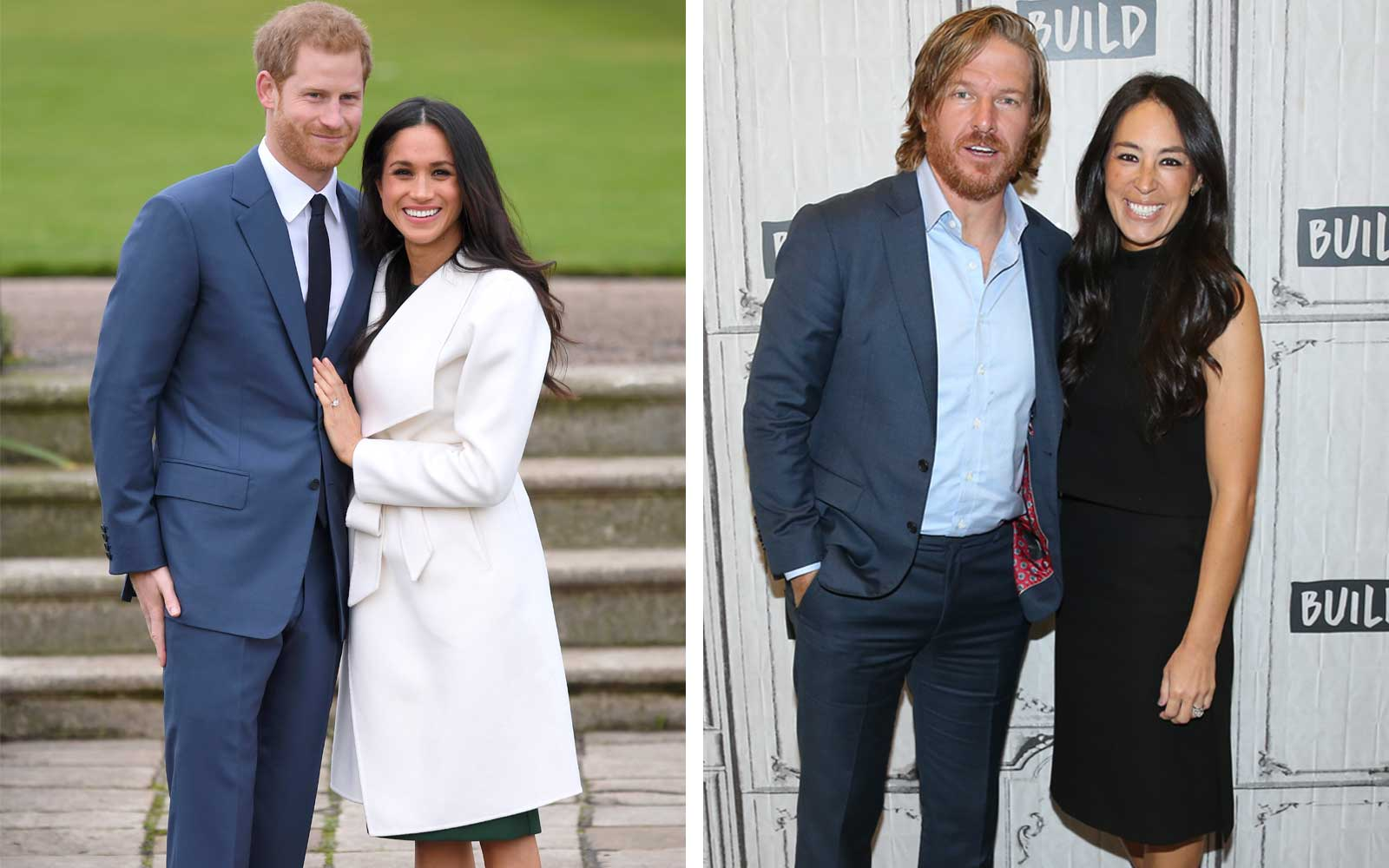 Prince Harry and Meghan Markle; Chip and Joanna Gaines