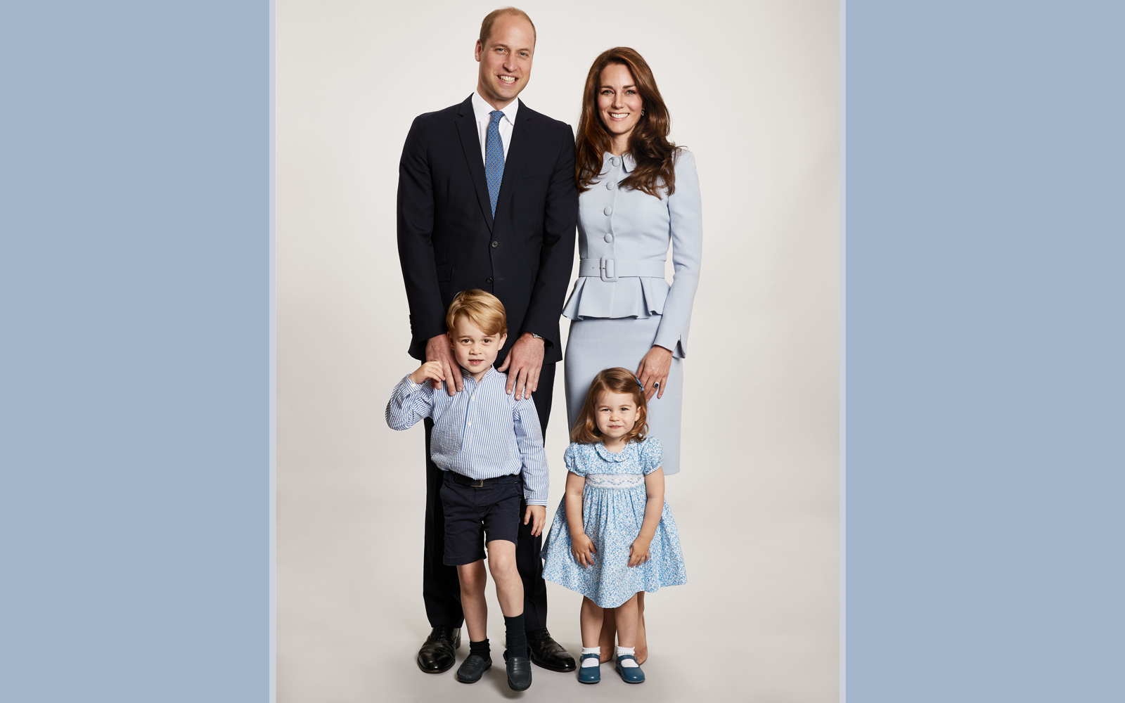 Royal Family Christmas official photo